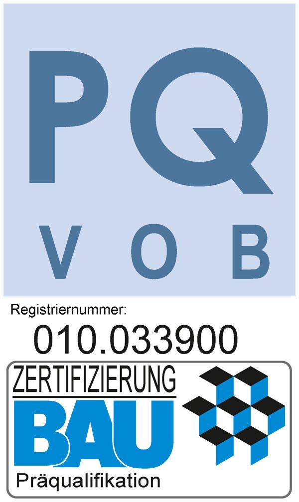 Zertifizierung BAU Präqualifikation