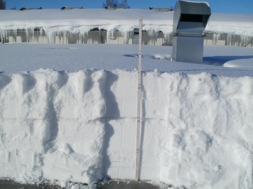 70 cm Schneedicke