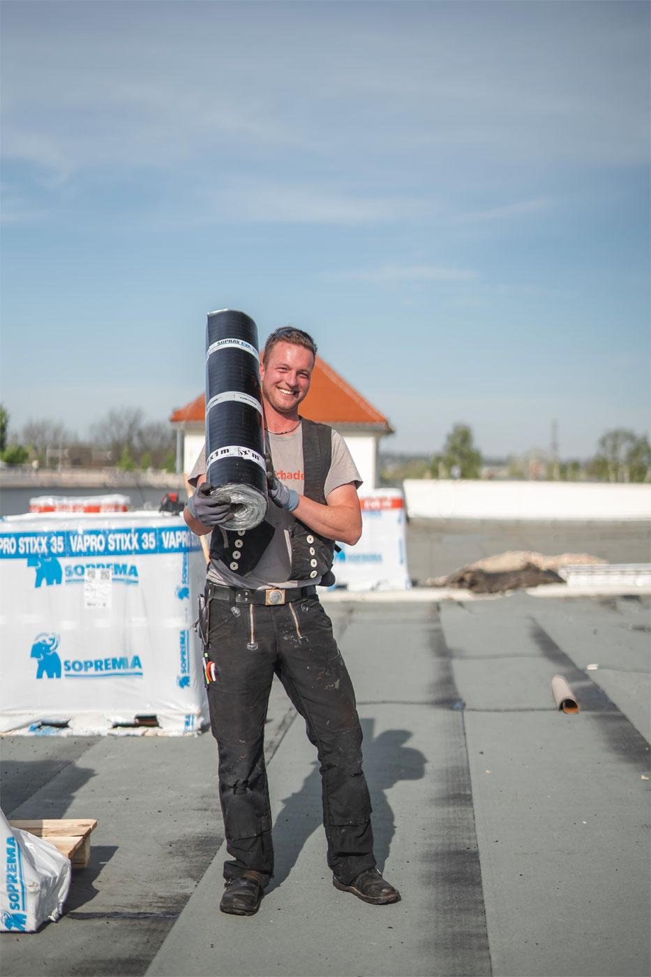 Bitumenrolle - Dachdeckermeister Claus Dittrich GmbH & Co. KG