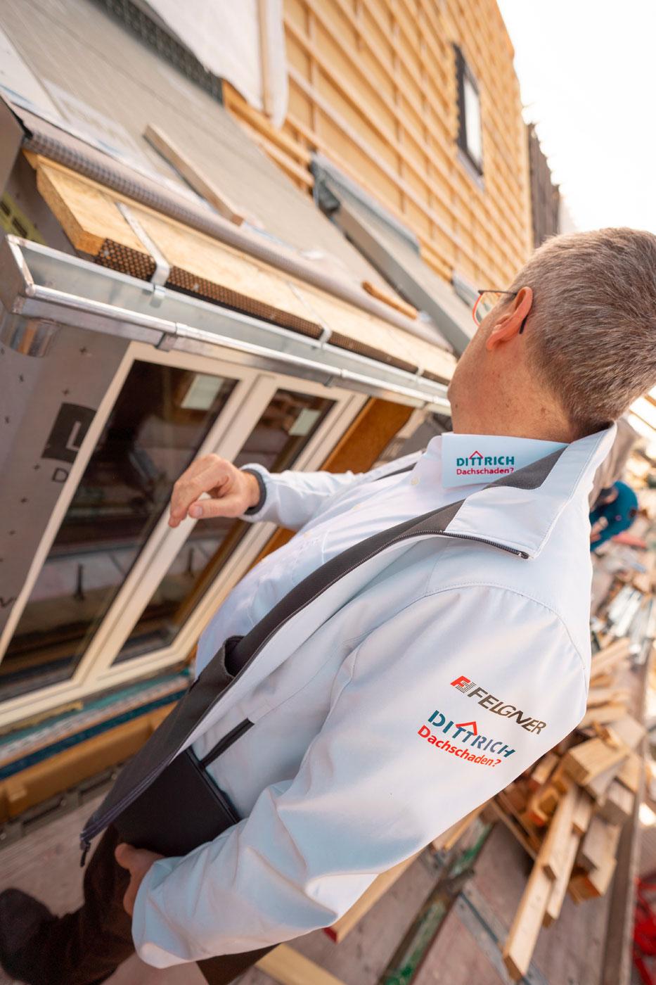 Steildach mit Fenster - Dachdeckermeister Claus Dittrich GmbH & Co. KG